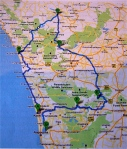 South India - UNICEF route
