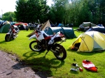 Hubb UK campground - a great atmosphere!