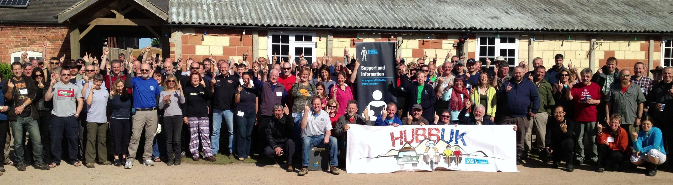 Hubb UK group photo © Horizons Unlimited