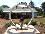 At the Equator, 100km from Kampala