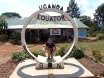 At the Equator, 100km from Kampala