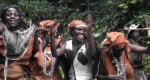 Screen grab from video shot with the Batwa near Nkuringo