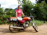 Commandeering a boda boda in Uganda