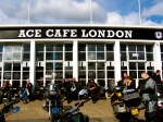 Sunday afternoon at the Ace Cafe