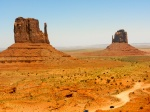 Monument Valley - like a huge movie set!