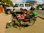 Exploring Lusaka on two wheels